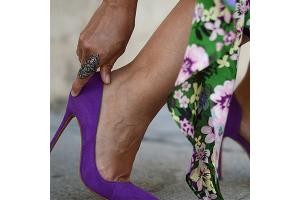 Purple Heels Try On Haul from Mara m