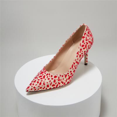 Glitter Leopard Prints Dress Stilettos Heel Pumps For Wedding