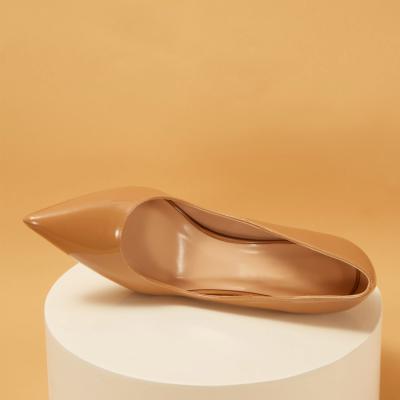 Patent Leather Pointed Toe Platform Stiletto Heels Pumps