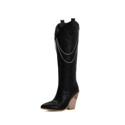Public Desire Heeled Boots | Shannon Snakeskin Western