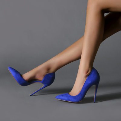 Sexy Party Pumps 2021 Pointed Toe Stiletto High Heels D'orsay