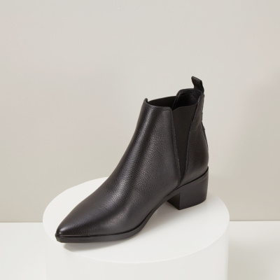 Women's Trendy Chelsea Boots Trendy Heeled Ankle Boots