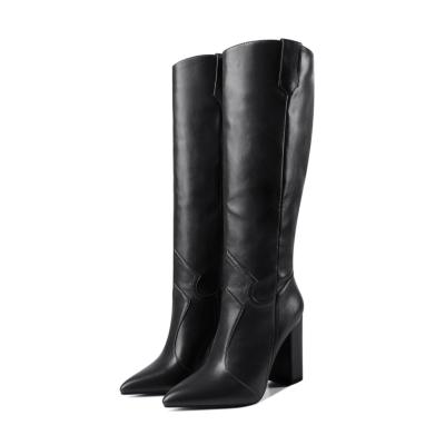 Womens Wide Calf Cowboy Boots Knee High Boot