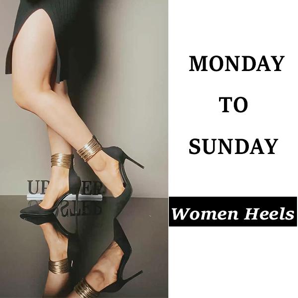 Monday To Sunday Shoes Inspo