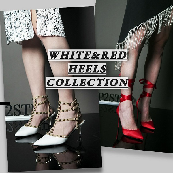 2021's White Heels Red Heels S/S Shoes Collection