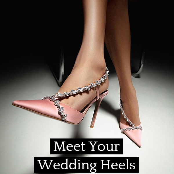 Wedding Shoes Idea-Understated Elegance At It's Finest