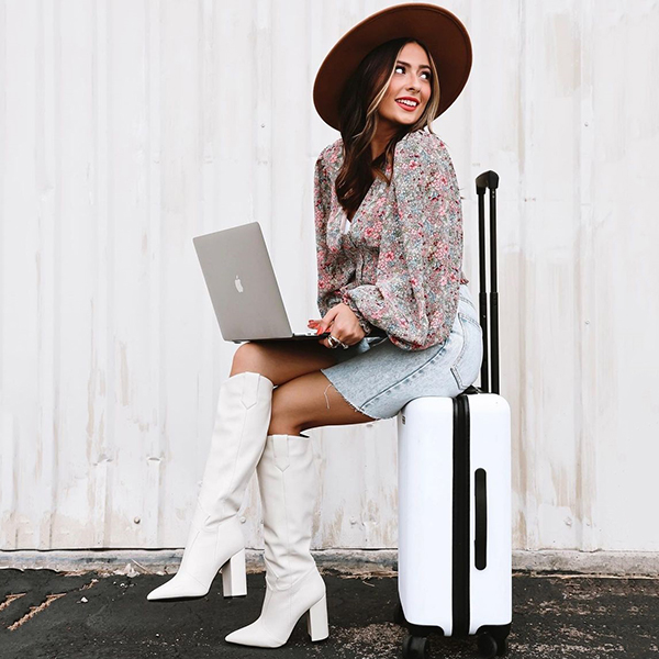 Boots Trends-White Cowboy Boots Style