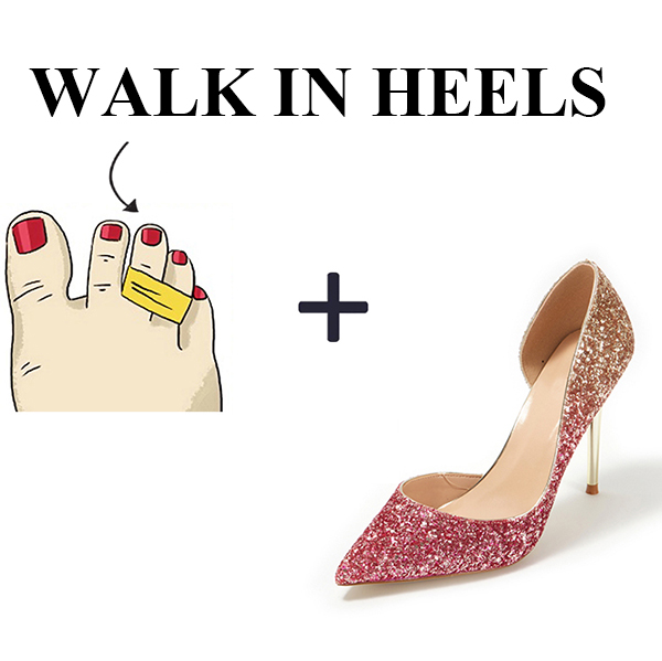 How to Wear High Heels More Comfortable